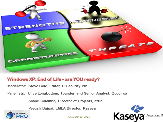 Windows XP: End of Life - are YOU ready?