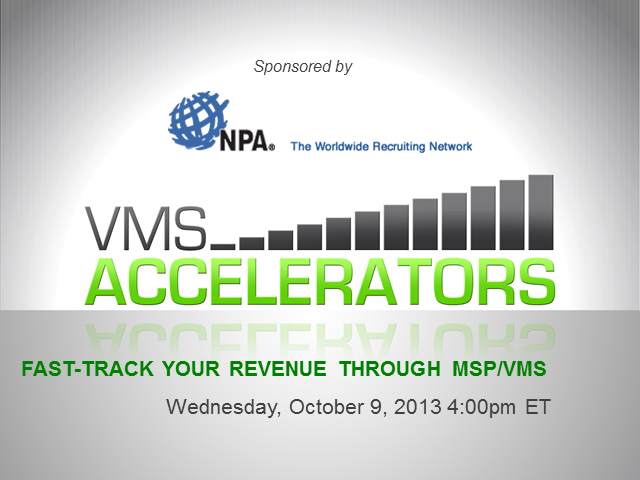 Fast-track Your Staffing Revenue through MSP/VMS