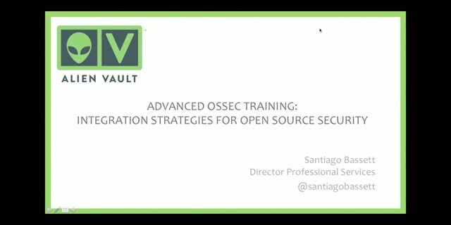 Advanced OSSEC Training: Integration Strategies for Open Source Security