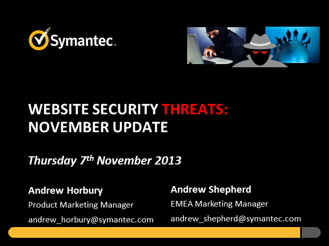 Website Security Threats: November Update