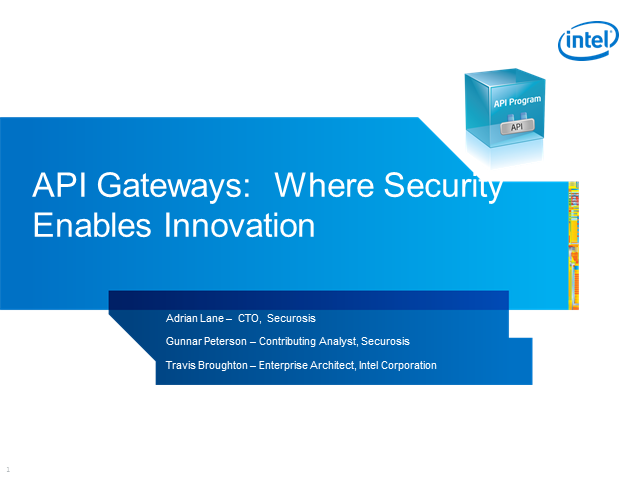 API Gateways: Where Security Enables Innovation