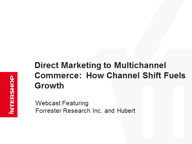 How Channel Shift Fuels Multichannel Growth