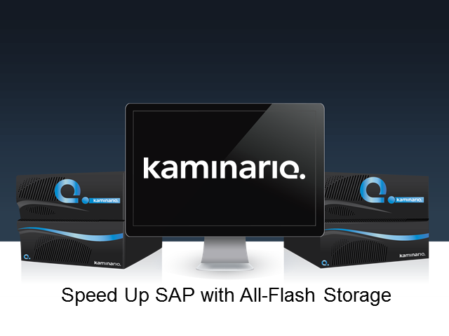 Speed up SAP with Scale-out All-Flash Storage
