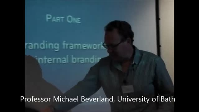 Branding From The Inside-Out: Video 2  - Michael Beveland
