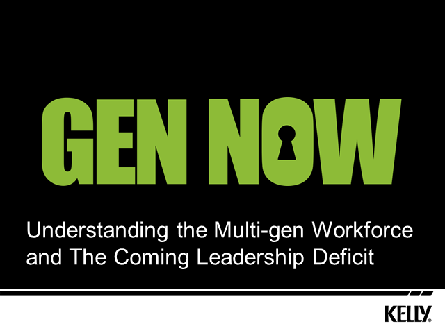 Gen Now - Understanding the Multi-Gen Workforce