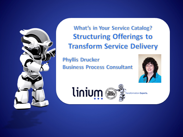 Structuring Your Service Catalog Offerings to Transform Service Delivery