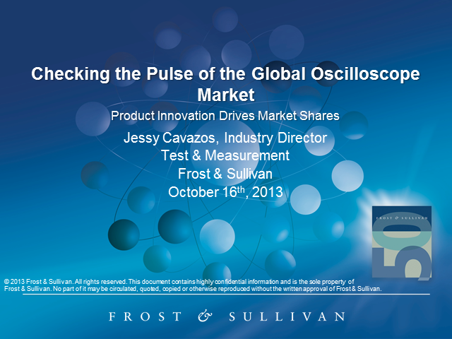 Checking the Pulse of the Global Oscilloscopes Market