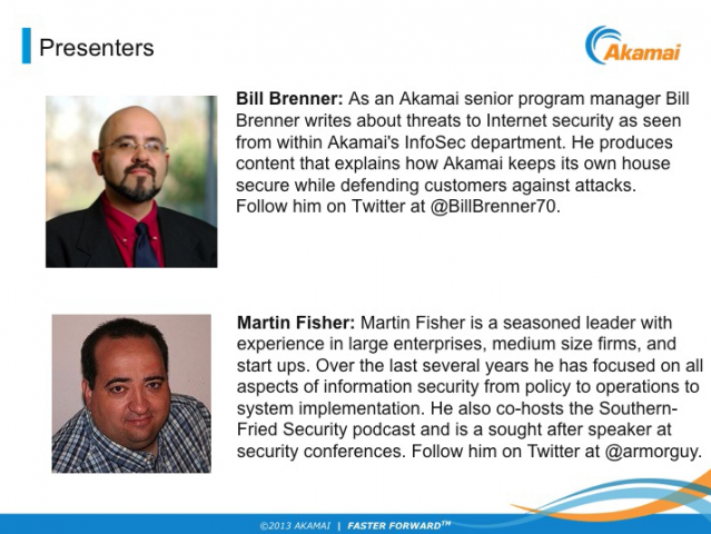 What web security means for small & medium businesses - Akamai customer webinar