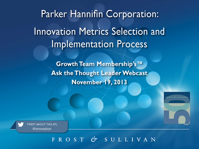 Innovation Metrics Selection and Implementation Process