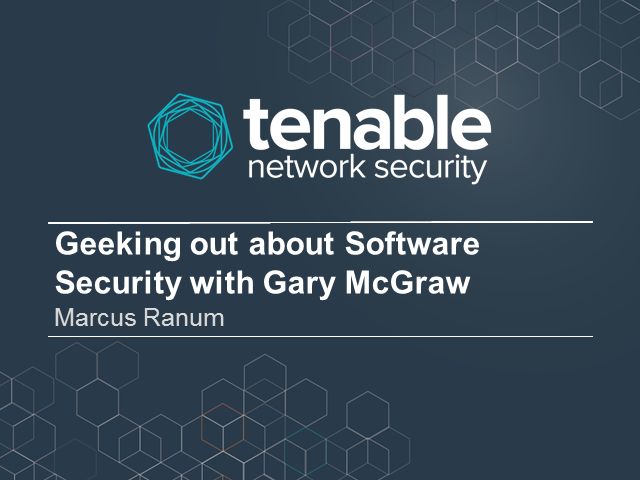 How will Software Security Evolve? - Geeking Out with Marcus Ranum