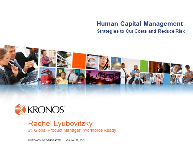 Human Capital Management: Strategies to Cut Costs and Reduce Risk