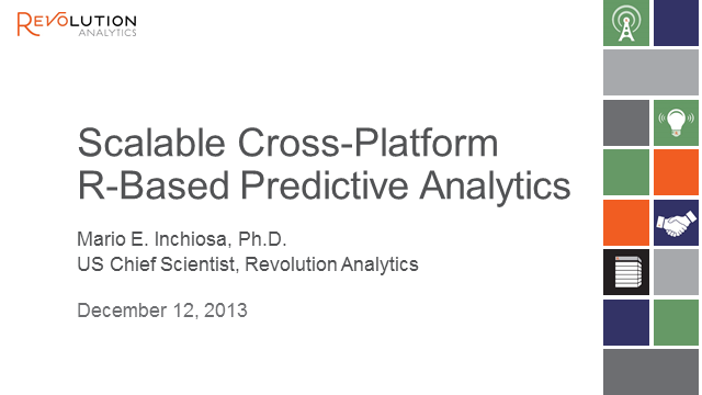 Scalable Cross-Platform R-Based Predictive Analytics