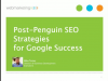 Post-Penguin SEO Strategies