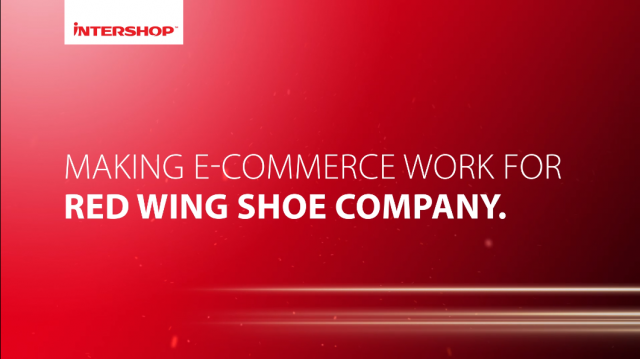 Red Wing Shoe Company harnesses complexity with Intershop