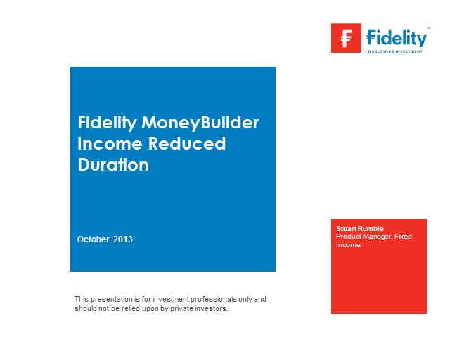 MoneyBuilder Income Reduced Duration Fund