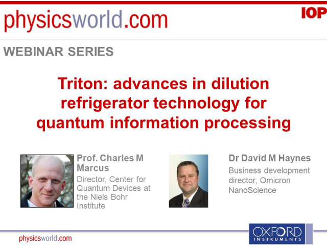 Triton: advances in dilution refrigerator technology for quantum info processing