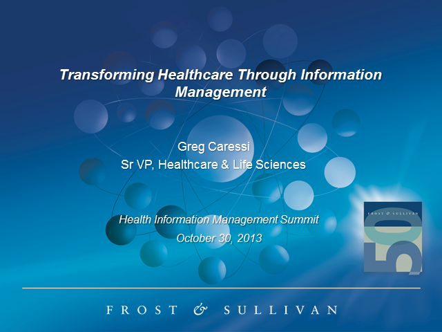 Transforming Healthcare Through Information Management