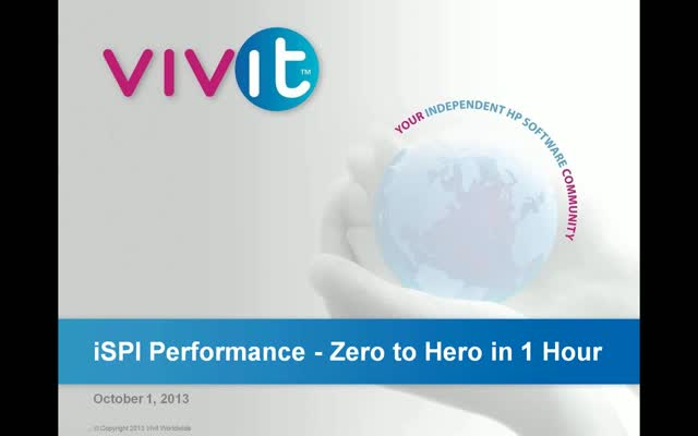 iSPI Performance - Zero to Hero in 1 Hour