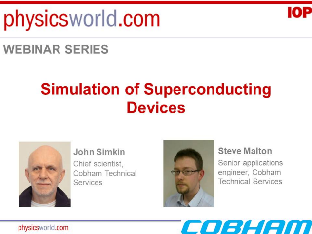 Simulation of superconducting devices