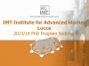PhD opportunities at IMT Lucca, Italy
