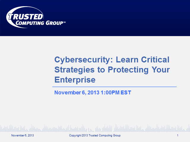 Cybersecurity: Learn Critical Strategies to Protecting Your Enterprise