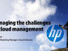 Managing the challenges of Cloud Management