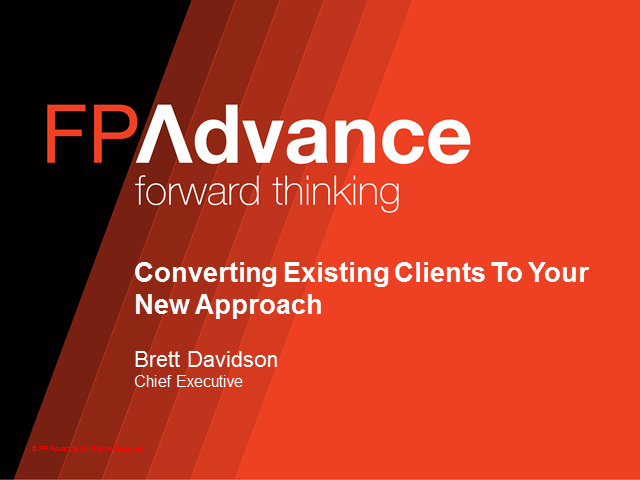 Converting Existing Clients To Your New Approach