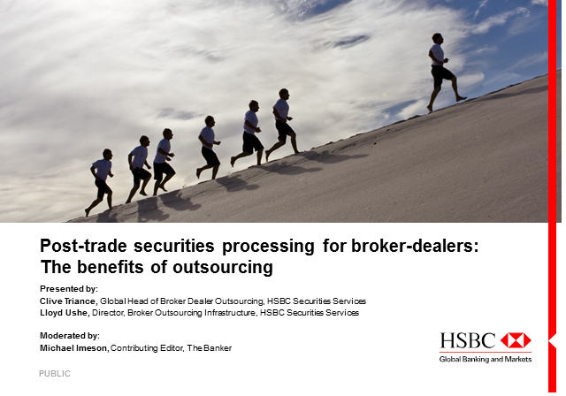 Post-trade securities processing for broker-dealers: The benefits of outsourcing