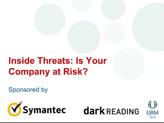 Inside Threats: Is Your Company At Risk?