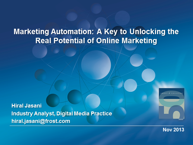 Marketing Automation: A Key to Unlocking the Real Potential of Online Marketing