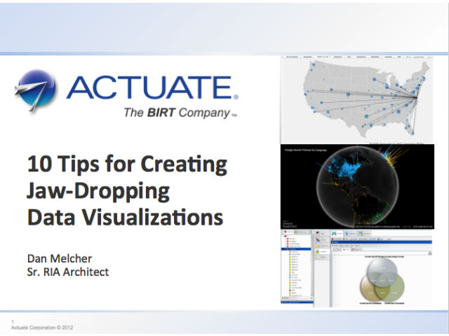 10 Tips for Creating Jaw-Dropping Data Visualizations