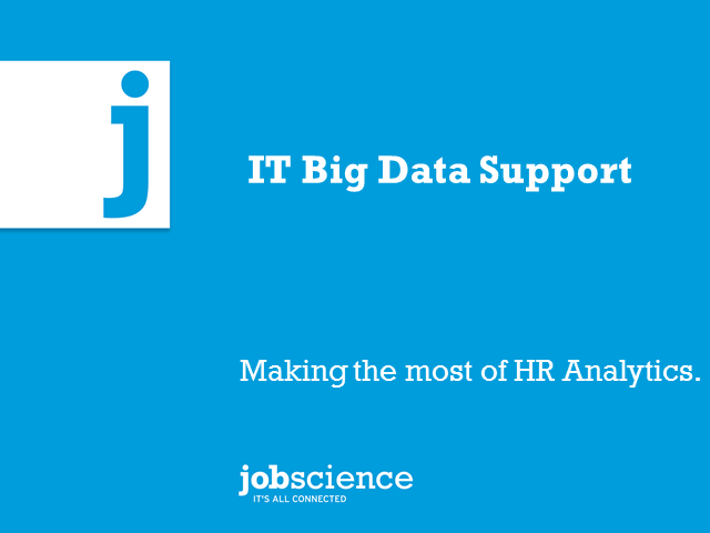 Raising ITs Focus On How To Support HR & Recruiting With Big Data