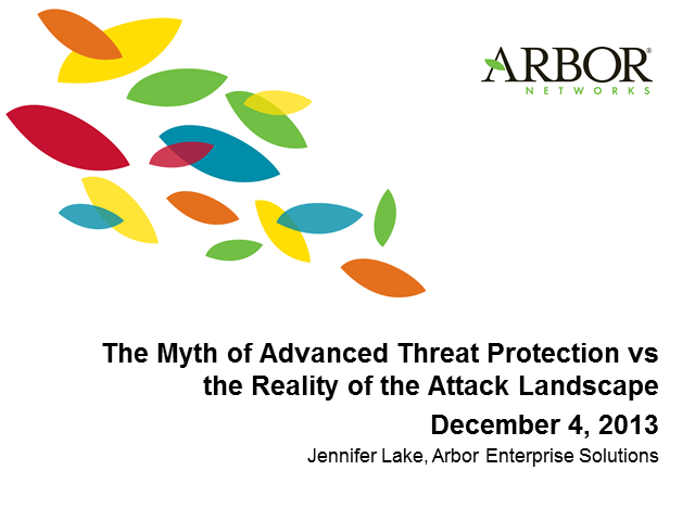 The Myth of Advanced Threat Protection vs. the Reality of the Attack Landscape