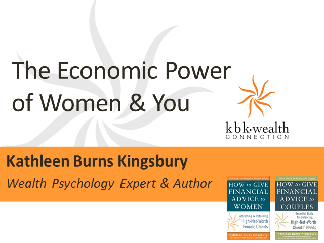 The Economic Power of Women and You