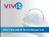 What's New with HP Service Manager 9.32