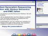 Putting Next Generation Sequencing in Motion with Globus Genomics and EMC Isilon