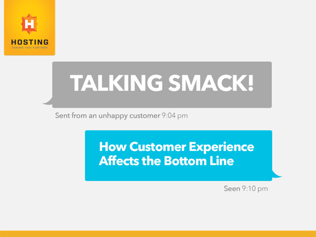 Talking Smack! How Customer Experience Affects the Bottom Line