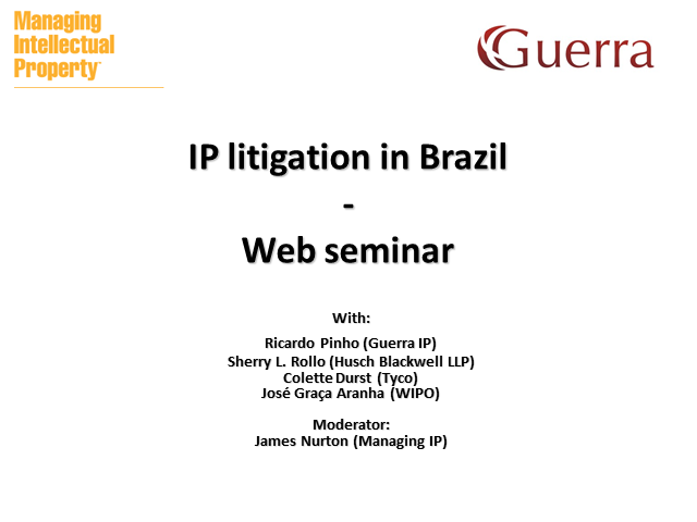 IP litigation in Brazil