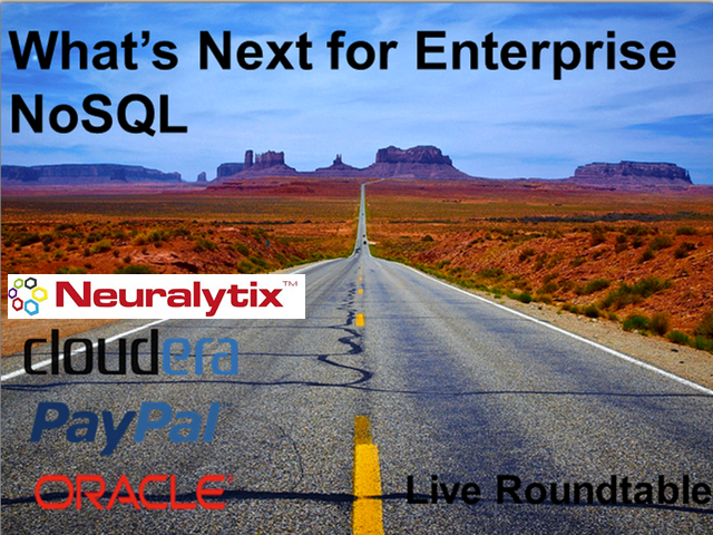 What's Next for Enterprise NoSQL [Live Roundtable]