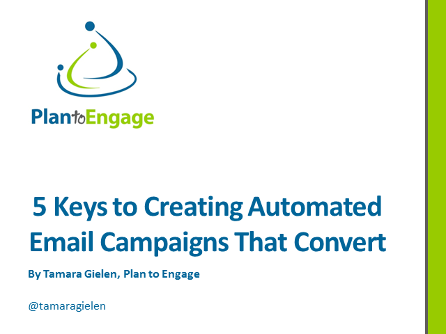 5 Keys to Creating Automated Email Campaigns That Convert
