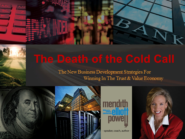 Death of the Cold Call