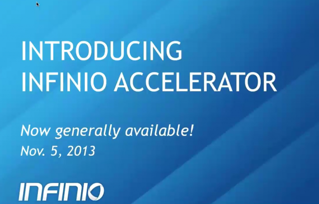 Introducing Infinio Accelerator 1.0