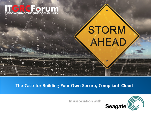 The Case for Building Your Own Secure, Compliant Cloud