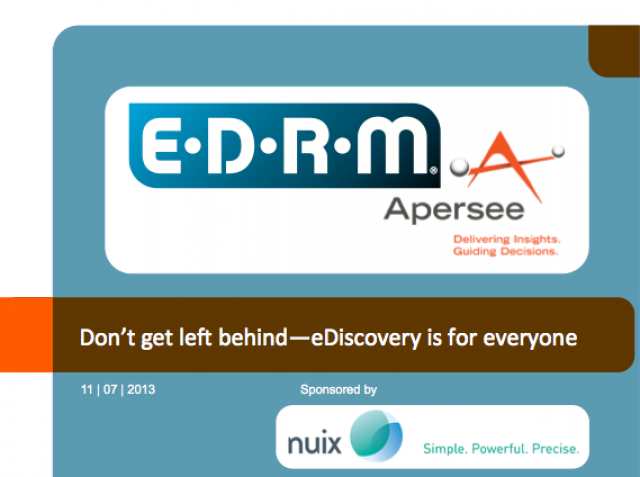 E-Discovery Processing Made Simple
