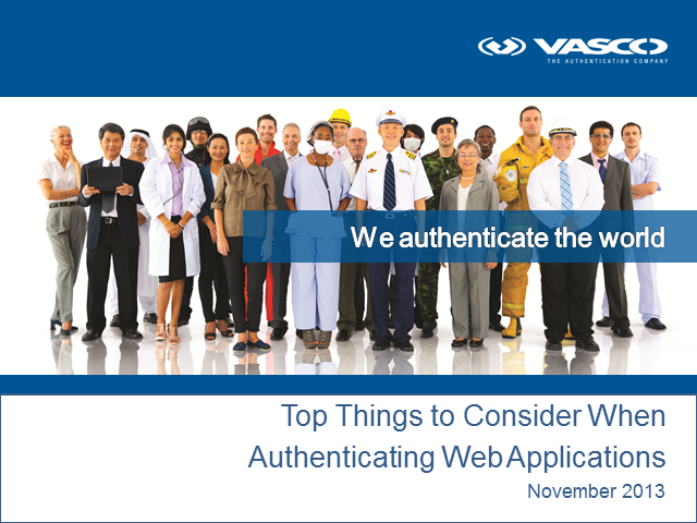 New Methods for Securing Identities in the Cloud