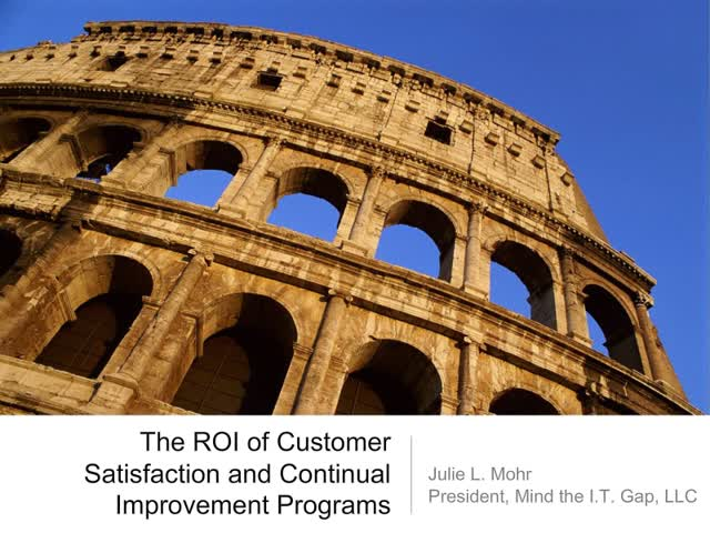 The ROI of Customer Satisfaction and Continuous Improvement Programs
