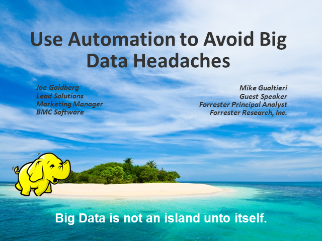 Using Automation to Relieve Big Data Headaches