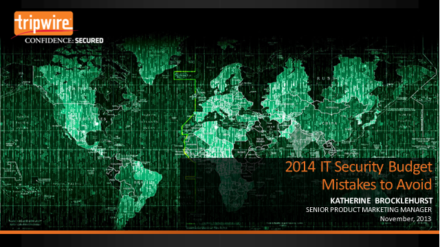 2014 IT Security Budget Mistakes to Avoid