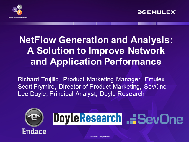Using NetFlow to Improve Network Visibility and Application Performance