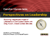 Perspectives on Leadership with Greg Alcorn of GCS